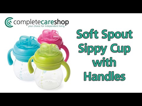 Video Demonstration Of The Soft Spout Sippy Cup with Handles