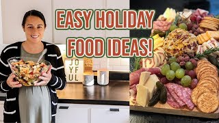 3 EASY & DELICIOUS HOLIDAY RECIPES YOU NEED TO TRY! | WHAT I BOUGHT