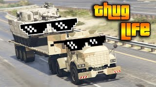GTA 5 ONLINE : THUG LIFE AND FUNNY MOMENTS (WINS, STUNTS AND FAILS #9)