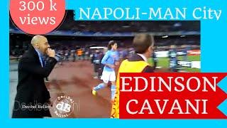 preview picture of video '7 volte Edinson Cavani come il suo numero di maglia CHAMPIONS LEAGUE Napoli Manchester city'