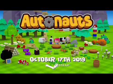 Autonauts Release Date Trailer | Add to your Steam Wishlist thumbnail