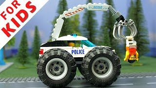 LEGO Experemental Cars and Lego  Police car , Ambulance car , City Pizza car and Trucks