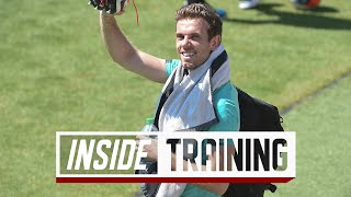 Inside Training: High spirits as the Reds return to training at Melwood