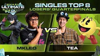 MkLeo Vs Tea   Singles: Losers Quarterfinals   Ultimate Summit 2 | Joker Vs Pac Man