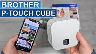 Ich teste den P-Touch Cube PT-P300BT von Brother und drucke Etiketten über mein Smartphone