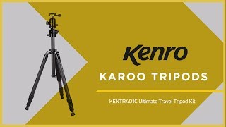 Karoo Travel Tripods from Kenro