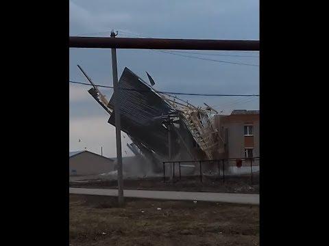 Сорвало крышу в Самарской области