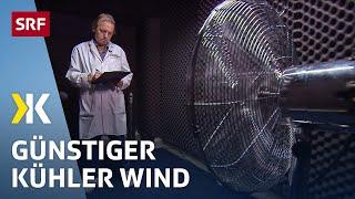 Ventilatoren im Test: Frische Brise für wenig Geld   2016   SRF Kassensturz