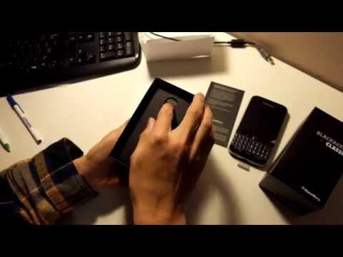 * Blackberry Classic (Q20) Unboxing * (HD)