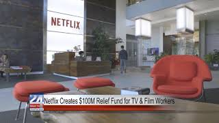 Netflix Creates $100M Relief Fund for TV & Film Workers