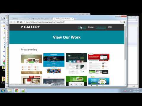 Learn how to create a responsive image gallery using jQuery Part - 3