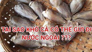 Khô cá gửi đi nước ngoài như thế nào và giá gửi là bao nhiêu?