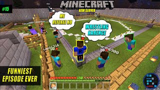 MINECRAFT | WWE Preparation: The Most Funniest Episode ever PART 1