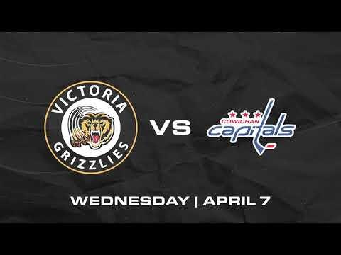 Grizzlies VS Capitals | April 7th | HIGHLIGHTS