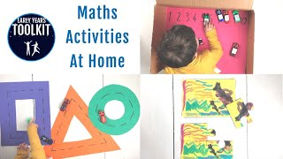 Maths Activities At Home | Early Years Toolkit