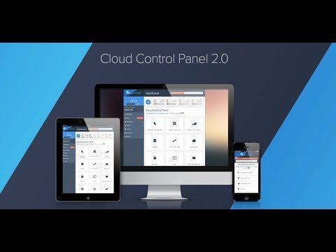 Create Your Online Presence with the Cloud Control Panel