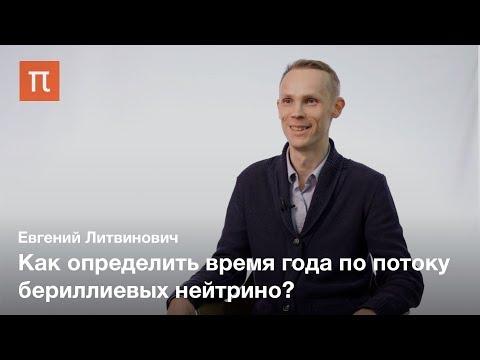 Эксперимент Борексино — Евгений Литвинович