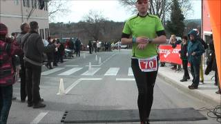 preview picture of video 'Istarska zimska liga u trčanju, 8. kolo Sveti Petar u šumi'