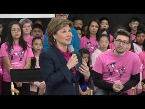 Sport organizations joined the B.C. government in declaring a commitment to erase bullying in sport at this year's Pink Shirt Day, taking the success of government's Erase Bullying Strategy to highlight sports.