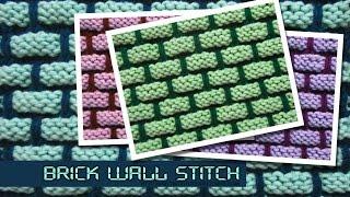 Brick Wall Stitch - 3D effect