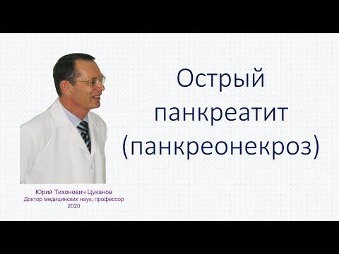 Острый панкреатит (панкреонекроз): классика и современность. Лекция для врачей
