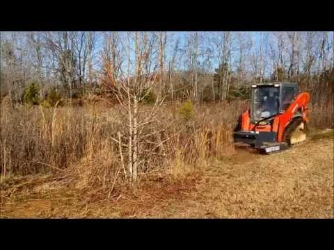 CID Heavy Duty Brush Cutter Skid Steer Attachment