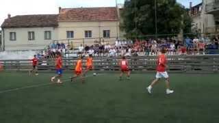 preview picture of video 'MAJSTORI S MORA - 113. BRIGADA, KNIN 2014 - 1 kolo'