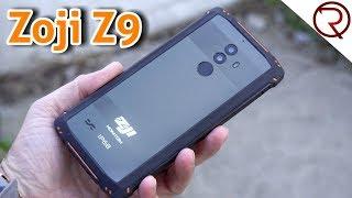 Zoji Z9 Rugged Smartphone Review