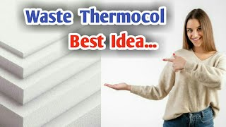 30 WASTE THERMOCOL WONDERFUL CREATION / CRAFT ART AND DIY / BEST OUT OF WASTE / REUSE