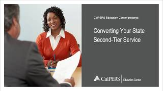 Converting Your State Second Tier Service