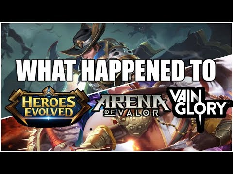 WHAT HAPPEND TO OTHER MOBA MOBILE? - Mobile legends - Arena of Valor -  Vainglory - Heroes Evolved