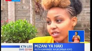 Mahakama kuu imemhukumu kifo Ruth Kamande Wanjiru kwa kumuua kwa kumdunga mpenziwe