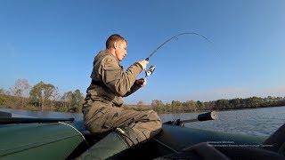 Щуки звереют на резину! Ловля щуки осенью. Рыбалка на спиннинг.