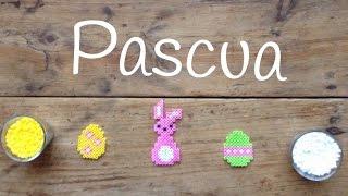 Plantilllas de hama beads de pascua  | Manualidades fáciles para niños