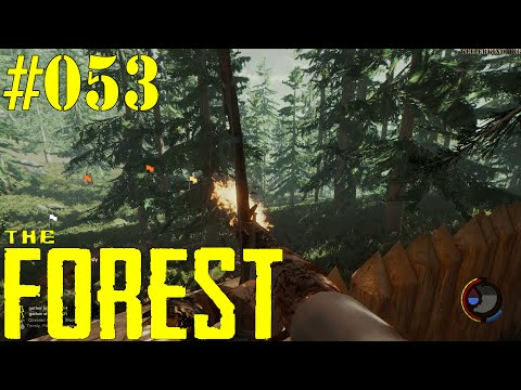 THE FOREST [HD|60FPS] #053 - LPT - Tower Defense ★ Let's Play Together The Forest