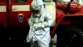 Огнеупорные костюмы вологодских пожарных