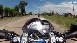 preview picture of video 'YAMAHA FZ 16 en chacabuco...(2).'