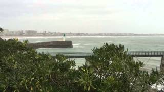 preview picture of video 'Grande marée Les Sables d'Olonne 20 février 2015 - 2'