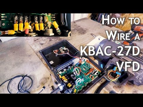 Complete Wiring of a KBAC-27D VFD