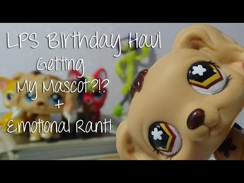 LPS - Birthday Haul! Getting My Mascot!?! + Emotional Rant! || LPSinfinity