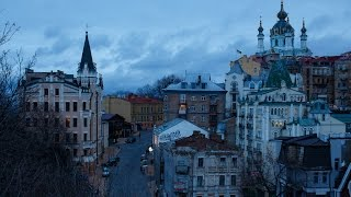 Kiev, Ukraine In The Winter 2017 / Київ взимку