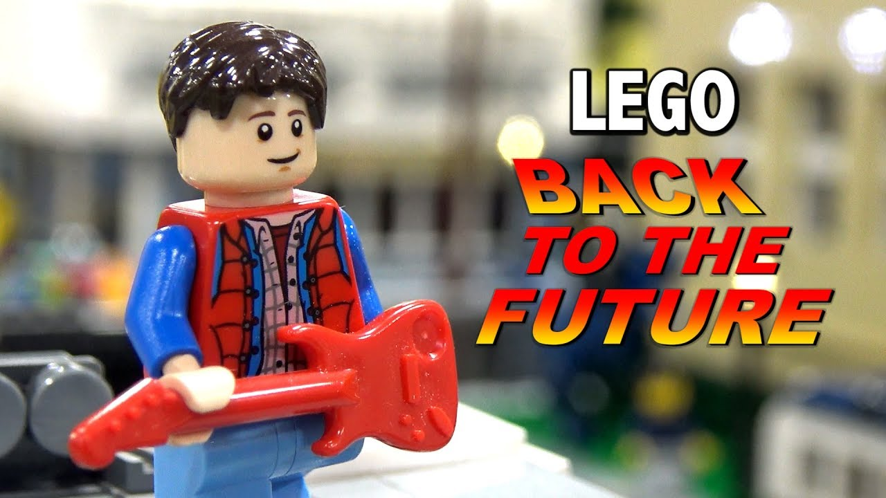 Back to the Future Hill Valley in LEGO | Philly Brick Fest 2019