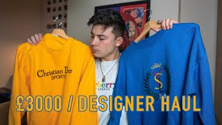£3000 Designer Clothing Haul (Dior, YSL, Fendi)