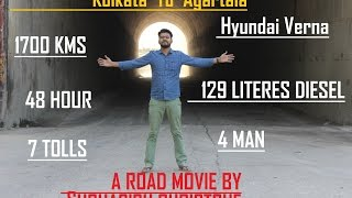 Kolkata to Agartala by A Car   Hyundai Verna Long Trip   WB TO Tripura - A Road Movie