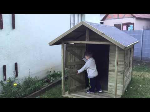 Kinderspielhaus Louis von Gartenpirat.de - DADDYHERO