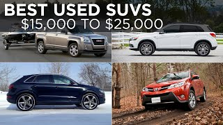 Best Used Crossover SUVs, $15,000 to $25,000 | Shopping Advice | Driving.ca