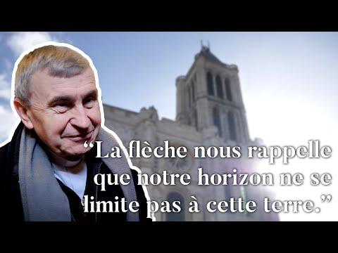 Le remontage de la flèche nord de la basilique cathédrale de Saint-Denis