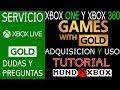 Xbox Live Y Games With Gold Tutorial Y Forma De Canjear