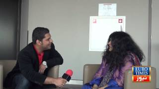 Abida Parveen exclusive interview by Euro Times