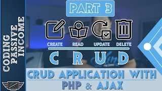 PHP Ajax CRUD Application Tutorial - MySQL & Bootstrap & jQuery DataTables  [Part 3]